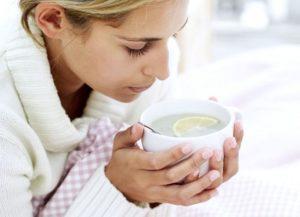 Грипп – профилактика и лечение горячим чаем с лимоном