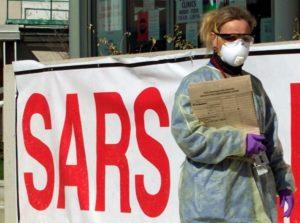 SARS - тяжелый острый респираторный синдром